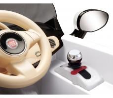 Фото рычага переключения скоростей электромобиля Peg-Perego Peg-Perego Fiat 500 White