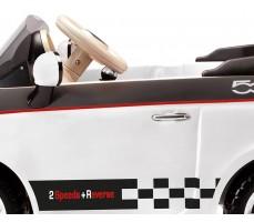 Фото кабины электромобиля Peg-Perego Peg-Perego Fiat 500 White