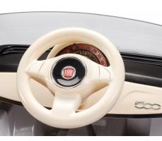 Фото руля электромобиля Peg-Perego Peg-Perego Fiat 500 White
