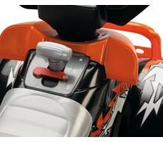 Фото рычага переключения скоростей электроквадроцикла Peg-Perego Corral T-Rex 2013 NEW Orange