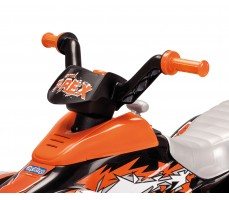 Фото руля электроквадроцикла Peg-Perego Corral T-Rex 2013 NEW Orange