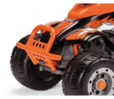 Фото защиты бампера электроквадроцикла Peg-Perego Corral T-Rex 2013 NEW Orange