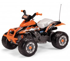Электроквадроцикл Peg-Perego Corral T-Rex 2013 NEW Orange