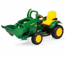 Электромобиль Peg-Perego John Deere Ground Loader Green