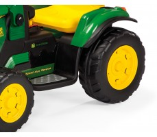 Фото колес электромобиля Peg-Perego John Deere Ground Loader Green