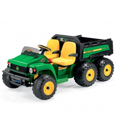 Электромобиль Peg-Perego John Deere Gator HPX 6x4 зеленый   Купить, цена, отзывы