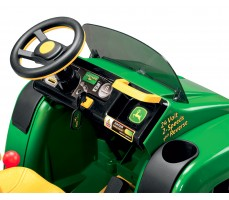 Фото приборной панели электромобиля Peg-Perego John Deere Gator HPX 6x4 Green