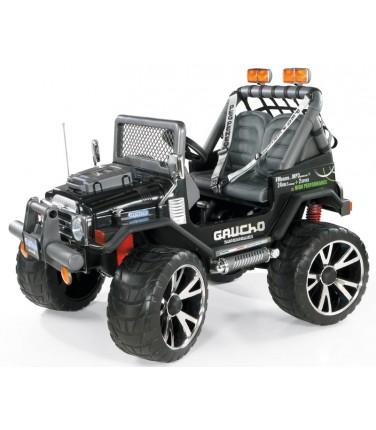 Электромобиль Peg-Perego Gaucho Super Power черный | Купить, цена, отзывы