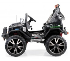 Фото электромобиля Peg-Perego Gaucho Super Power 2014 Black  вид сбоку