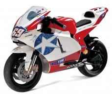 Электромотоцикл Peg-Perego Ducati GP White