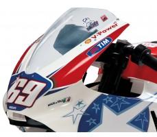 Фото лобового щитка электромотоцикла Peg-Perego Ducati GP 24V White