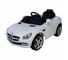 Электромобиль Rastar Mercedes-Benz SLK White (р/у)