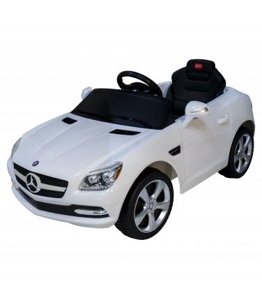 Электромобиль Rastar Mercedes-Benz SLK белый | Купить, цена, отзывы