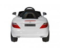 Фото электромобиля Rastar Mercedes-Benz SLK White вид сзади