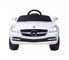 Фото электромобиля Rastar Mercedes-Benz SLK White вид спереди