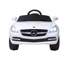 Фото электромобиля Rastar Mercedes-Benz SLK White вид спереди