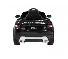 Фото электромобиля Rastar Range Rover Evoque Black вид сзади