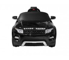 Фото электромобиля Rastar Range Rover Evoque Black вид спереди