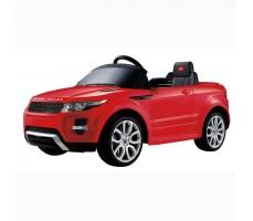 Фото электромобиля Rastar Range Rover Evoque Red вид сбоку