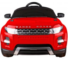Фото электромобиля Rastar Range Rover Evoque Red вид спереди