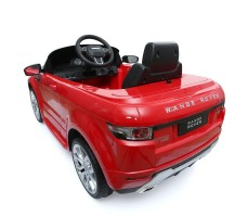 Фото электромобиля Rastar Range Rover Evoque Red вид сзади