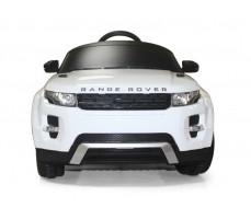 Фото электромобиля Rastar Range Rover Evoque White вид спереди
