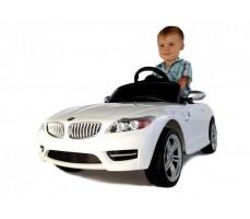 Фото электромобиля Rastar BMW Z4 White с пассажиром