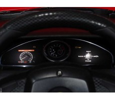 Фото  панели индикации электромобиля Rastar Ferrari F12 Red