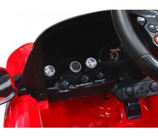 Фото приборной панели электромобиля Rastar Ferrari F12 Red