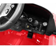 Фото річага переключения скоростей электромобиля Rastar Ferrari F12 Red