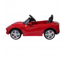 Фото электромобиля Rastar Ferrari F12 Red вид сбоку