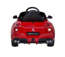 Фото электромобиля Rastar Ferrari F12 Red вид сзади