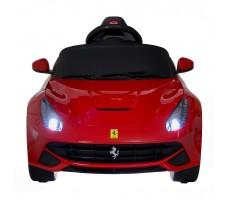 Фото электромобиля Rastar Ferrari F12 Red вид спереди