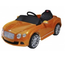 Электромобиль Rastar Bently Continental GT Orange (р/у)