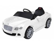 Электромобиль Rastar Bently Continental GT White (р/у)