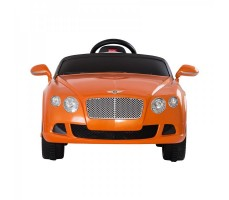 Фото электромобиля Rastar Bently Continental GT Orange вид спереди