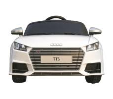 Фото электромобиля Rastar Audi TTS Roadster White вид спереди
