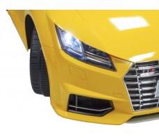 Фото фары электромобиля Rastar Audi TTS Roadster Yellow