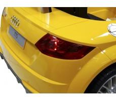 Фото заднего габарита электромобиля Rastar Audi TTS Roadster Yellow