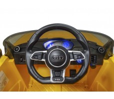 Фото руля электромобиля Rastar Audi TTS Roadster Yellow