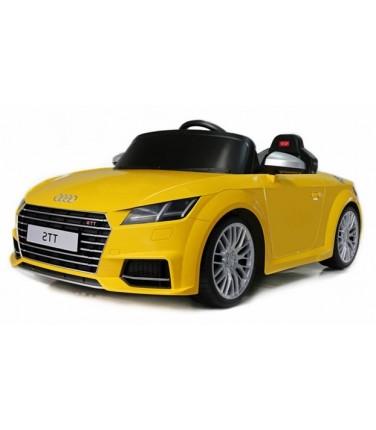Электромобиль Rastar Audi TTS Roadster желтый | Купить, цена, отзывы