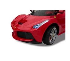 фото капот Детский электромобиль Rastar Ferrari LaFerrari Red