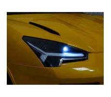 фото фара Детский электромобиль Rastar Lamborghini Urus Yellow