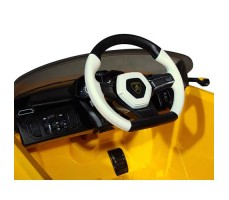 фото руль Детский электромобиль Rastar Lamborghini Urus Yellowфото Детский электромобиль Rastar Lamborghini Urus Yellow