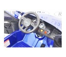 Фото электромобиля River Toys AUDI Q5 Blue вид из кабины