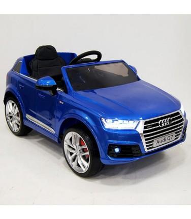 Детский электромобиль RiverToys Audi Q7 Quattro Blue | Купить, цена, отзывы