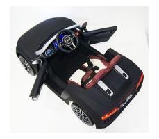 фото детского электромобиля RiverToys Audi R8 Black сверху