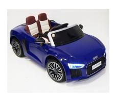 Детский электромобиль RiverToys Audi R8 Blue