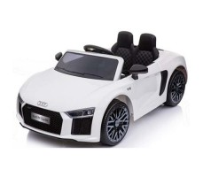 Детский электромобиль RiverToys Audi R8 White
