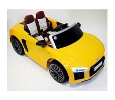 Детский электромобиль RiverToys Audi R8 Yellow